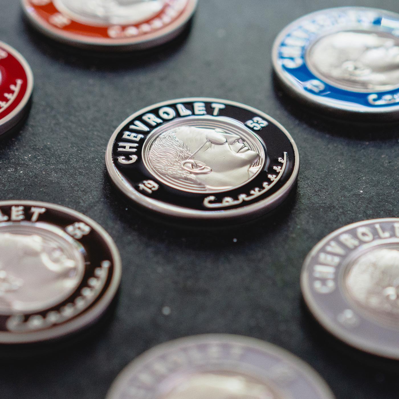Chevrolet: Corvette Coin